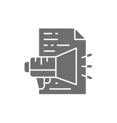 Advertisement text announcement document vector