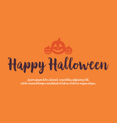 background style for halloween celebration vector image