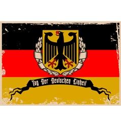 i love germany2 vector image