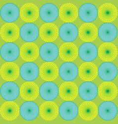 seamless blue yellow color irregular vector image