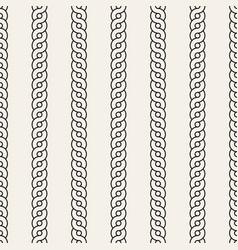 seamless pattern monochrome wavy stripes vector image