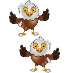 Bald Eagle Character 1 vector image