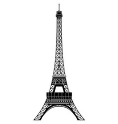Tour Eiffel vector image vector image
