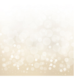 white gold light background abstract design blur vector image vector image