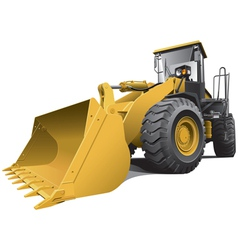 large loader vector image vector image