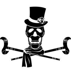 skull dandy vector image