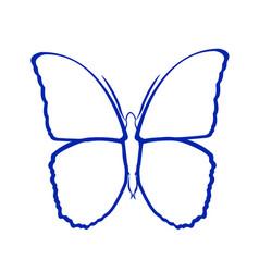 Butterfly art vector