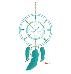 dreamcatcher tattoo vector image
