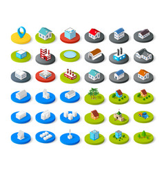 isometric icon vector image