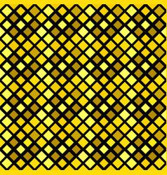 Seamless geometrical golden diagonal square vector