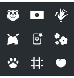 Set of Panda vector image