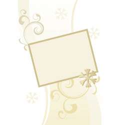 Snowflake ornamental picture vector