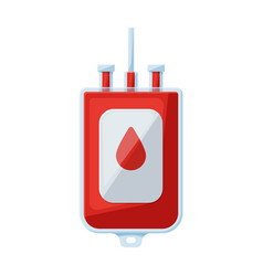 Transfusion blood iconcartoon vector