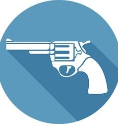 Gun Icon vector image vector image