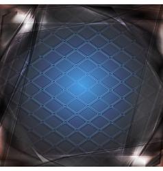 Dark tech backdrop vector image