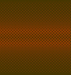 abstract geometrical halftone square pattern vector image