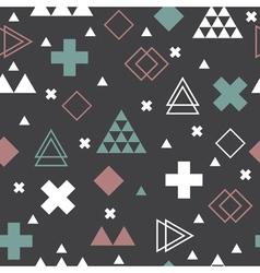 Abstract tribal background Geometric scandinavian vector