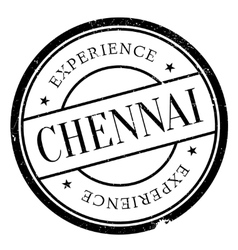 Chennai stamp rubber grunge vector
