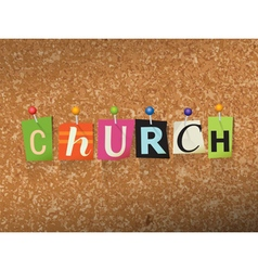 Church Concept vector image vector image