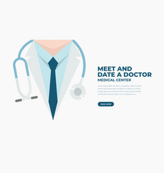 medical and health care banner vector image