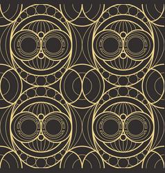 Modern geometric tiles pattern vector