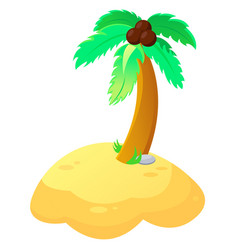 Palm tree in vector