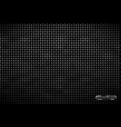 pattern of metal grid techno background vector image