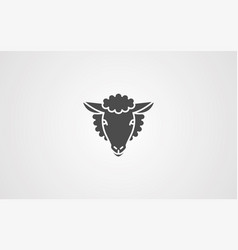sheep icon sign symbol vector image