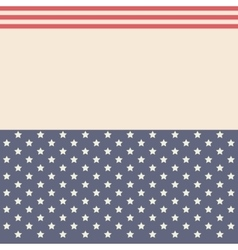 Stars and striped background decoration design vector