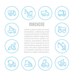 website banner and landing page machine vector image
