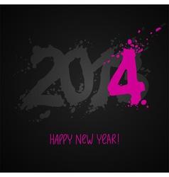 design background 2014 vector image