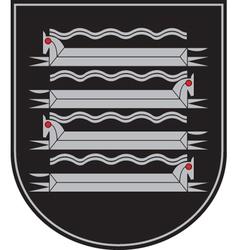 Kaisiadorys City Coat-of-arms vector image vector image