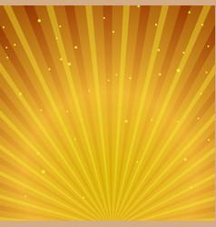 Abstract golden sunburst background vector