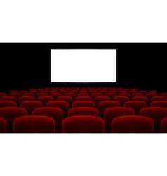 Cinema hall vector image