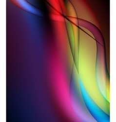Colorful high light dynamic background vector image