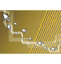 Computer background vector