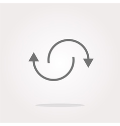 Rotation arrows Icon Rotation arrows Icon vector