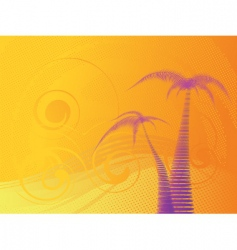 tropical stylish background vector image vector image