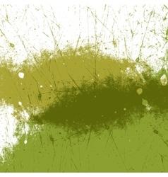 Green Paint Texture vector image