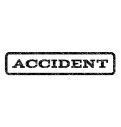 accident watermark stamp vector image