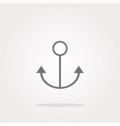 anchor Icon anchor Icon anchor Icon Art vector image