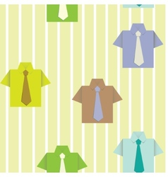 Background with a shirt vector