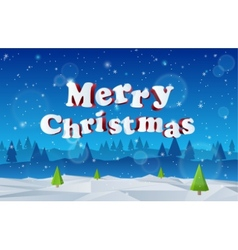 Holidays 3D merry christmas Eps 10 vector image