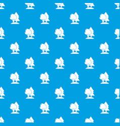 Paintball field pattern seamless blue vector