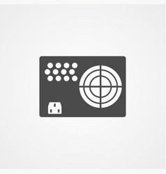 power supply icon sign symbol vector image