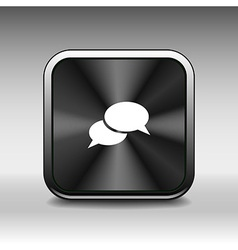 Speech bubbles sign chat icon symbol vector image
