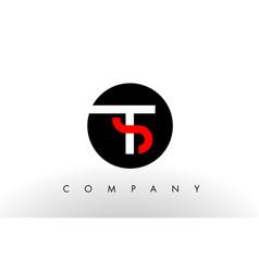 Ts logo letter design vector