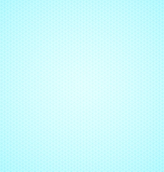 Triangle blue graph paper background vector image vector image