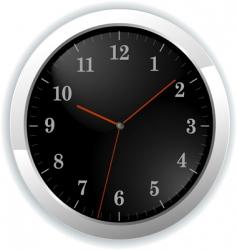 Illustration of wall clock vector
