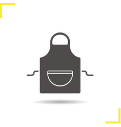 Apron icon vector